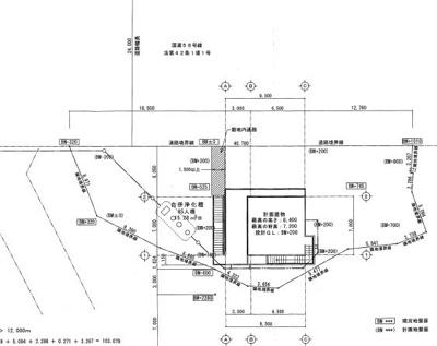 【地図】リゾートウエディングホテル予定地前 海沿いレストラン・事務所
