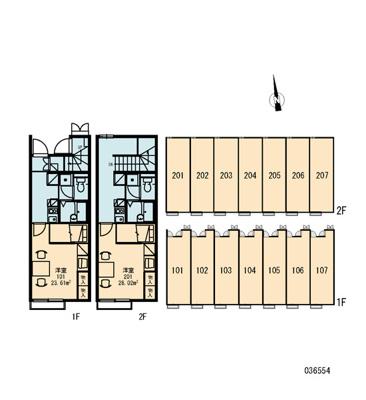 【地図】ソレーユⅡ