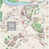 パークアクシス赤坂見附の地図です。