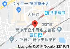 【地図】セピアコート11 スモッティー阪急高槻店
