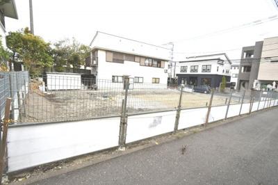 【外観】鎌倉市扇ガ谷一丁目売地(南道路)