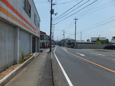 【前面道路含む現地写真】鏡野町寺元51坪