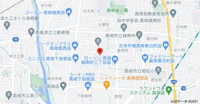 【地図】ロニーハイツ千代