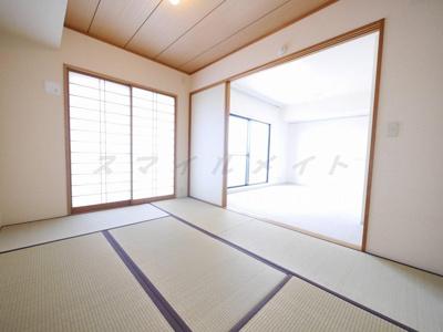 新品の畳です。和室のお部屋で寛げます。