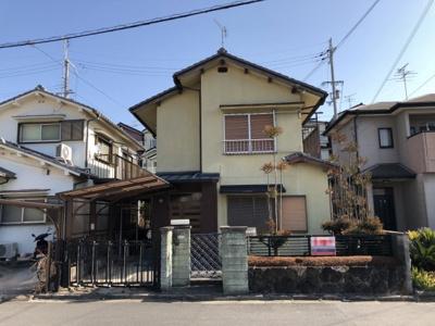 【外観】秋篠町 一戸建