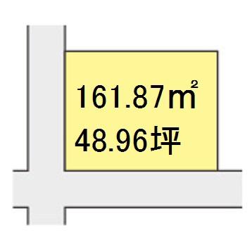 【区画図】【売地】粉河中学校区・120537