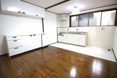 【居間・リビング】山科区西野後藤 中古テラスハウス