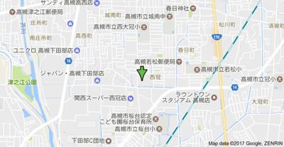 【地図】フラットピア88 株式会社Roots