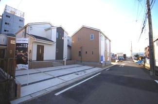 4号棟 前面道路含む現地(2018年02月)撮影