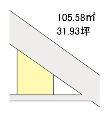 【区画図】【売地】海南中学校区・120539