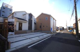 5号棟 前面道路含む現地(2018年02月)撮影