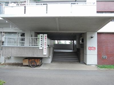 【エントランス】鹿島田グリーンハイツ2号棟