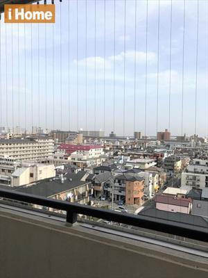9階からの眺望は良好です!!