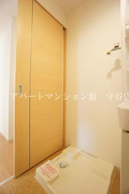 【洗面所】カーサ ドマーニ