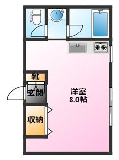 バス・トイレ別、独立洗面化粧台完備♪