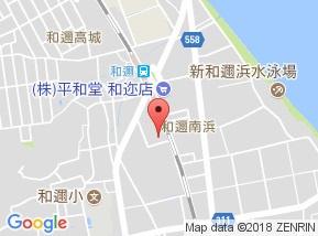 【地図】ルミエール中浜