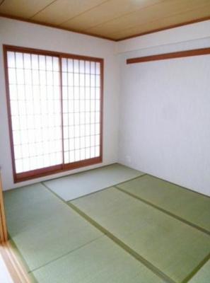 パークヒルズ櫻坂ステージⅡ(4LDK)の和室です。