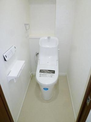 パークヒルズ櫻坂ステージⅡ(4LDK)のトイレです。