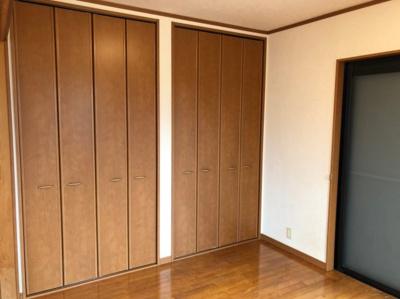 全居室収納付きなのでお部屋がすっきり片付きます!
