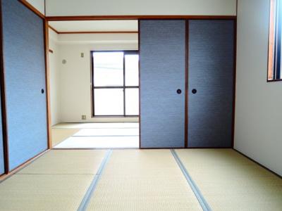 【居間・リビング】ニシマンション
