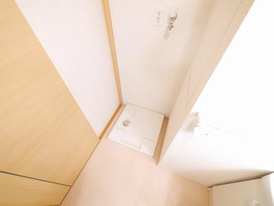 洗濯機を室内に設置することができます