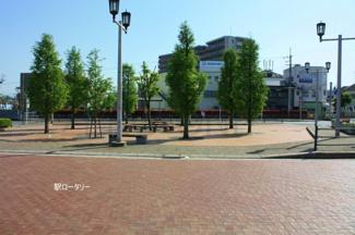 上野芝駅 ロータリー