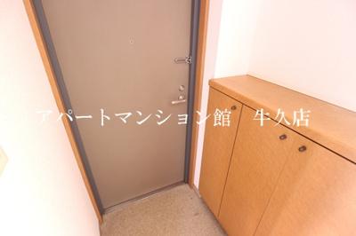 【玄関】牛久ロイヤルレジデンスBⅡ型