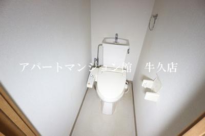 【トイレ】牛久ロイヤルレジデンスCⅣ型