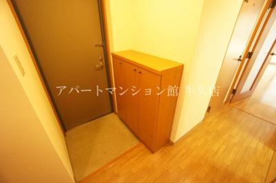 【玄関】牛久ロイヤルレジデンスDⅡ型