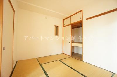 【和室】牛久ロイヤルレジデンスDⅡ型