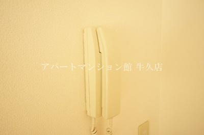 【セキュリティ】牛久ロイヤルレジデンスDⅡ型