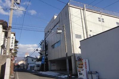 【外観】岡谷市中央町3丁目中古ビル
