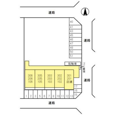 【区画図】フェリス旭ヶ丘