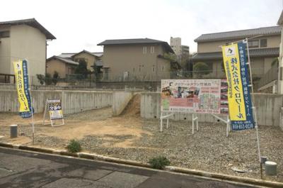 【前面道路含む現地写真】堺市南区竹城台 土地