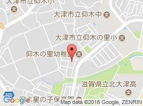 【地図】ブランデュール仰木の里Ⅱ