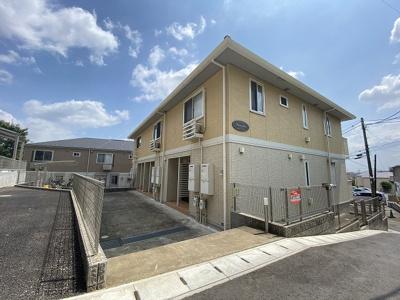 「柿生」駅にアクセス可能な最寄りバス停より徒歩3分!ペットOK♪ワンちゃんと一緒に暮らせる2階建てアパートです☆