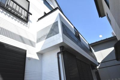 外壁はALCを使用、新たに塗装もし直しています