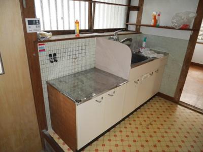 【キッチン】総社 国府団地借家