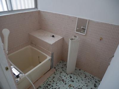 【浴室】総社 国府団地借家
