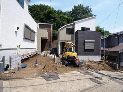 【外観】保土ヶ谷区岩崎町全3棟 新築戸建