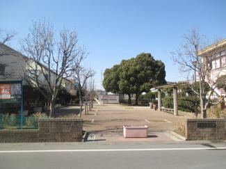 隣地に公園あり ポレスターブロードシティ越谷赤山