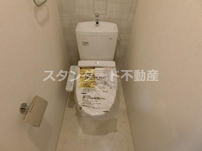 【トイレ】ヴァンヴェール天神橋