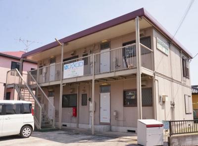 【外観】コーポ赤坂
