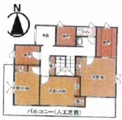 各居室の収納に加え納戸3ヶ所と、驚きの収納力です