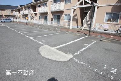 【駐車場】ガーデンハイツ緑ヶ丘C