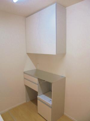 キッチン内 棚