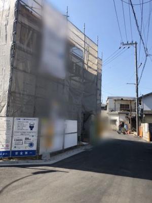 【前面道路含む現地写真】寝屋川市堀溝 新築戸建