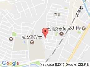 【地図】CoCo衣川