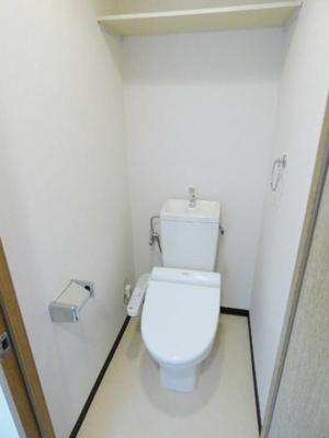 【トイレ】フリックコート