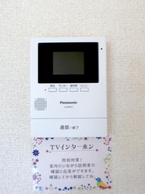 TVモニターフォンです